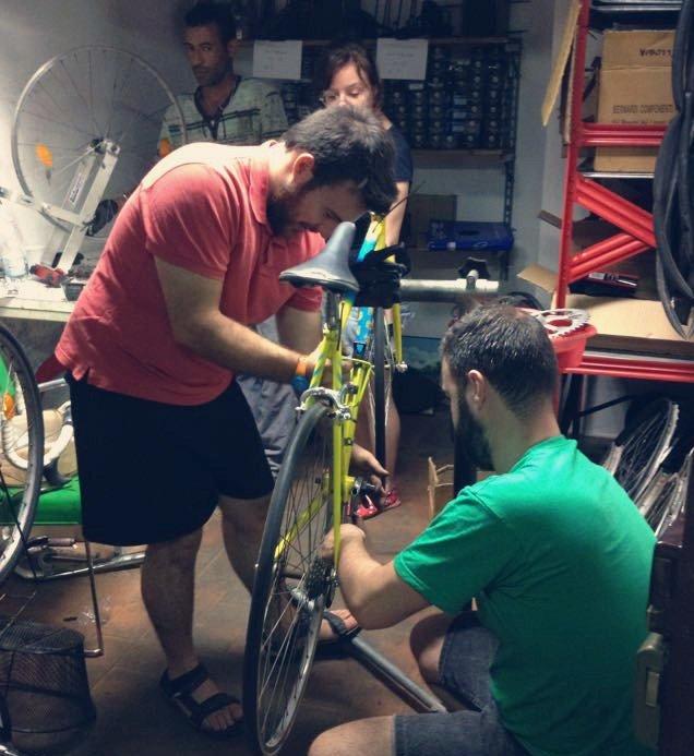 riparazione bici l'altra babale