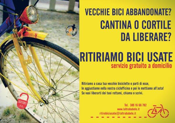bici usate ritiro babele