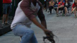 asta di bici usate in Piazza Aldrovandi