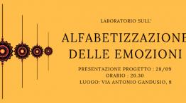 Laboratorio sull'Alfabetizzazione delle emozioni