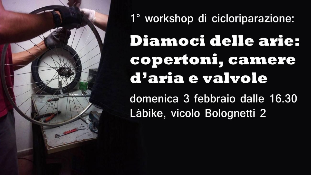Workshop di cicloriparazione